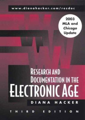Research and Documentation in the Electronic Age: With 2003 MLA and Chicago Update 9780312442385