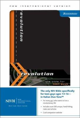 Revolution-NIV: The Bible for Teen Guys 9780310920946