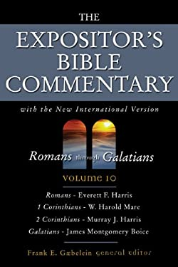 Romans Through Galatians: Volume 10 9780310365204