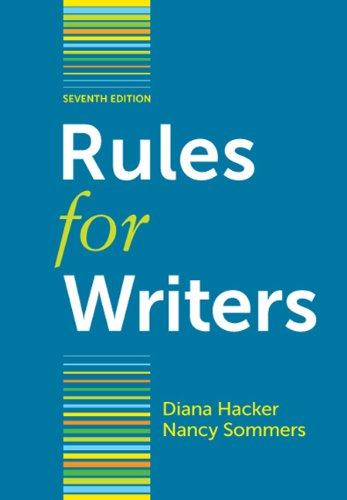 Rules for Writers 9780312647360