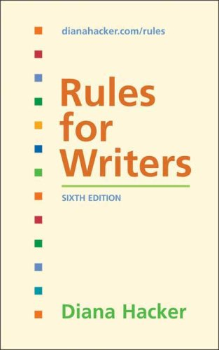 Rules for Writers 9780312485733