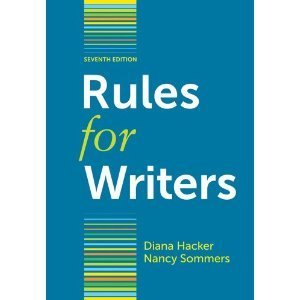 Rules for Writers with Writing about Literature (Tabbed Version) 9780312647957
