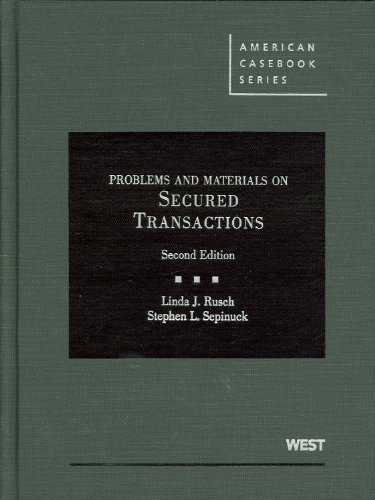 Problems and Materials on Secured Transactions [With Access Code] 9780314266644