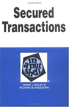 Secured Transactions in a Nutshell 9780314238177
