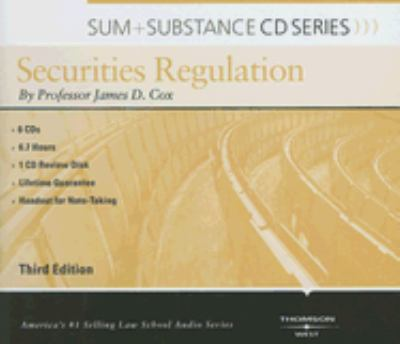Securities Regulation 9780314188212