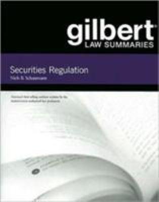 Securities Regulation 9780314181114