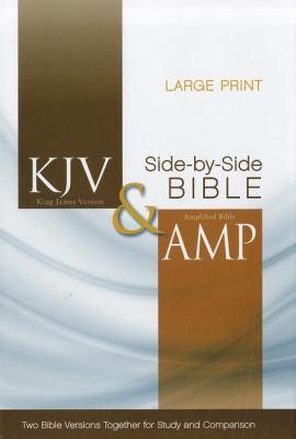Side-By-Side Bible-PR-KJV/Am-Large Print 9780310443308