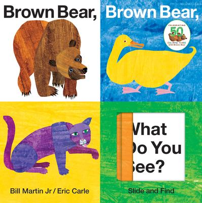 Brown Bear, Brown Bear, What Do You See? Slide and Find 9780312509262