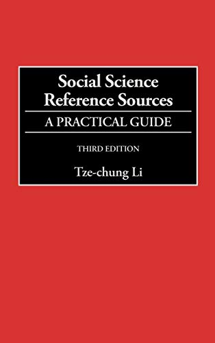 Social Science Reference Sources 9780313304835