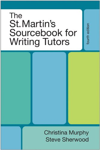 The St. Martin's Sourcebook for Writing Tutors 9780312661915