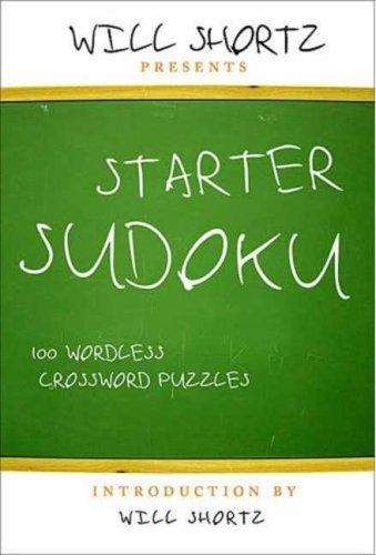 Starter Sudoku: 100 Wordless Crossword Puzzles 9780312371029