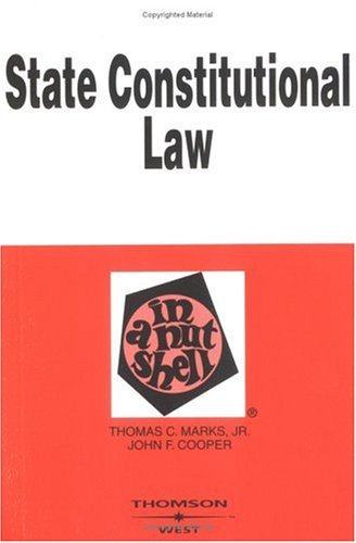 State Constitutional Law in a Nutshell 9780314241689