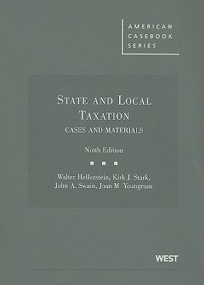 State and Local Taxation: Cases and Materials 9780314185068