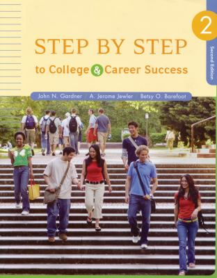 Step by Step to College and Career Success 9780312683474