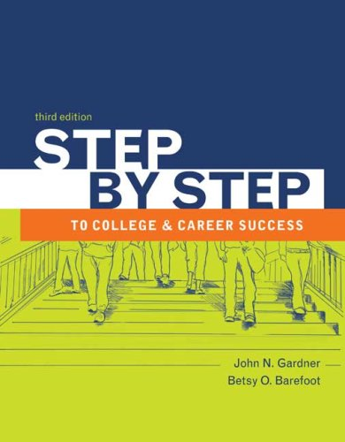 Step by Step to College and Career Success 9780312683061