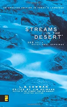 Streams in the Desert: 366 Daily Devotional Readings 9780310210061