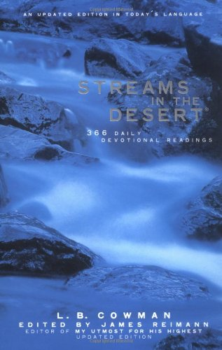 Streams in the Desert: 366 Daily Devotional Readings 9780310230113