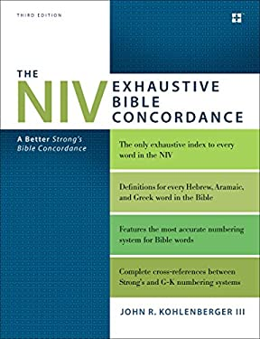 Strongest Tniv Exhaustive Concordance