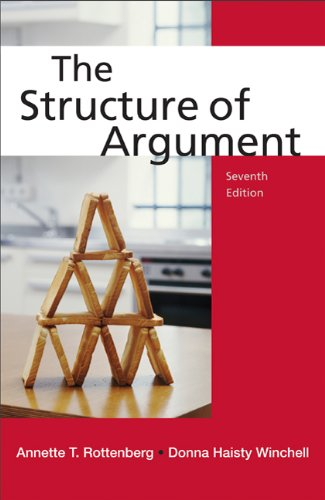 The Structure of Argument 9780312650698