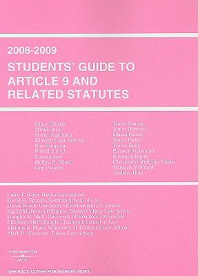 Students' Guide to Article 9 and Related Statutes 9780314150820
