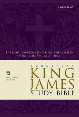 Study Bible-KJV-Large Print 9780310929901