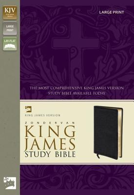 Study Bible-KJV-Large Print 9780310929918