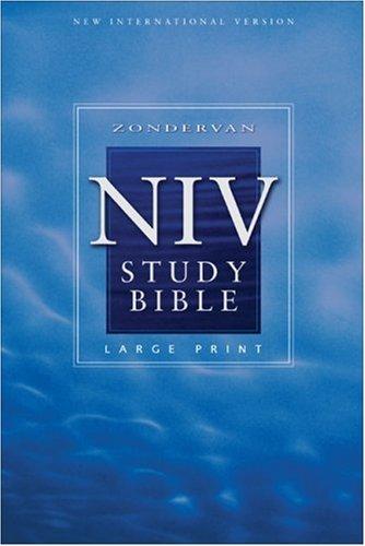 Study Bible-NIV-Large Print 9780310929703
