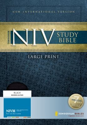Study Bible-NIV-Large Print