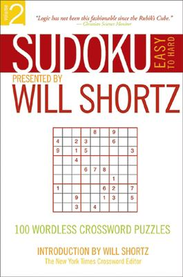 Sudoku Easy to Hard: 100 Wordless Crossword Puzzles 9780312355036