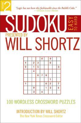 Sudoku Easy to Hard: 100 Wordless Crossword Puzzles