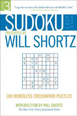 Sudoku Easy to Hard: 100 Wordless Crossword Puzzles 9780312355043