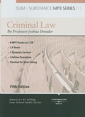 Criminal Law 9780314266910