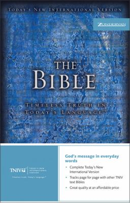 Text Bible-Tniv: Timeless Truth in Today's Language 9780310922285