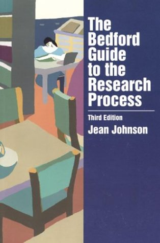 The Bedford Guide to the Research Process 9780312119676