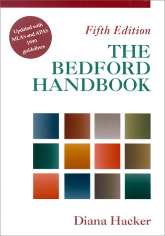 The Bedford Handbook 9780312260620