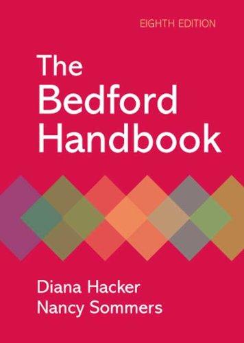 The Bedford Handbook 9780312479749