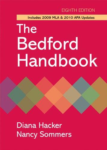 The Bedford Handbook 9780312652685