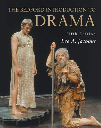 The Bedford Introduction to Drama 9780312445768
