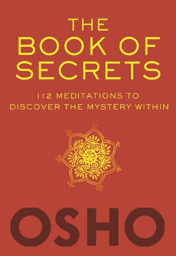 The Book of Secrets: 112 Meditations to Discover the Mystery Within [With DVD] 9780312650605