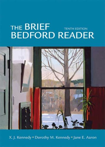 The Brief Bedford Reader 9780312472078