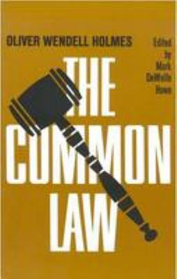 The Common Law 9780316371322