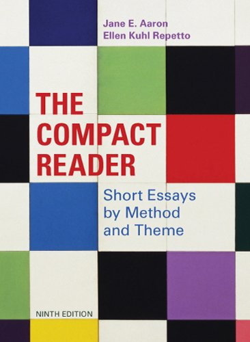 The Compact Reader: Short Essays by Method and Theme 9780312609603