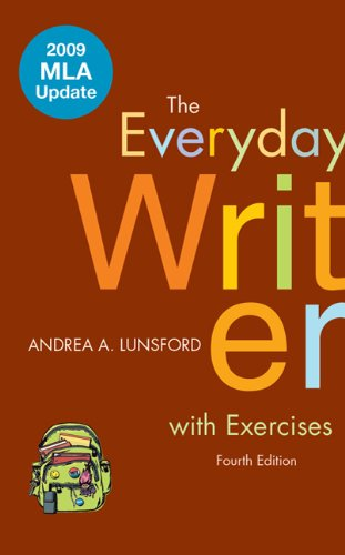 The Everyday Writer with Exercises 9780312594589
