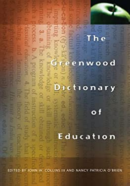 The Greenwood Dictionary of Education 9780313361548