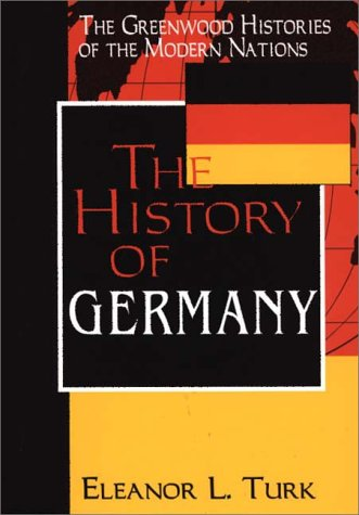 The History of Germany 9780313302749