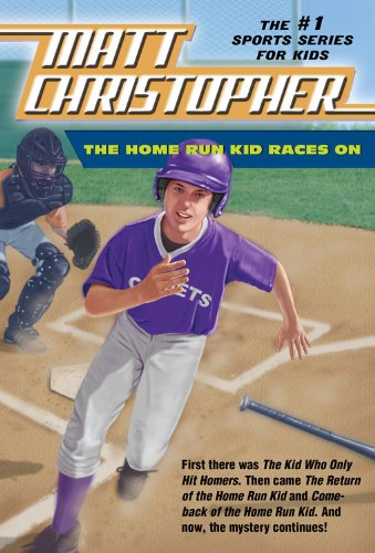 The Home Run Kid Races on 9780316044813