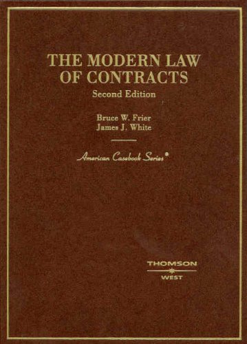 The Modern Law of Contracts 9780314180261