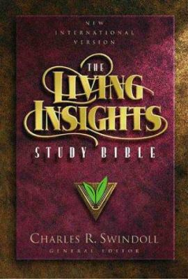 The New International Living Insights Study Bible Leather Burgundy 9780310918783