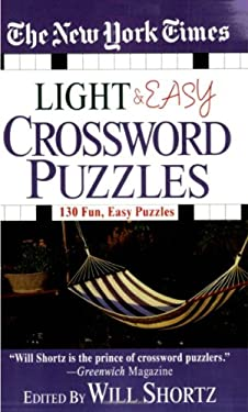 The New York Times Light and Easy Crossword Puzzles 9780312937737