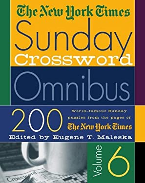 The New York Times Sunday Crossword Omnibus 9780312289133